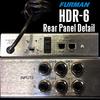 HSD6 Rear Panel Detail
