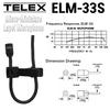 Telex ELM-33S