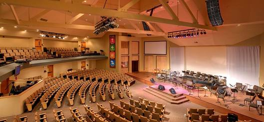 Bethany Christian Assembly's Sanctuary