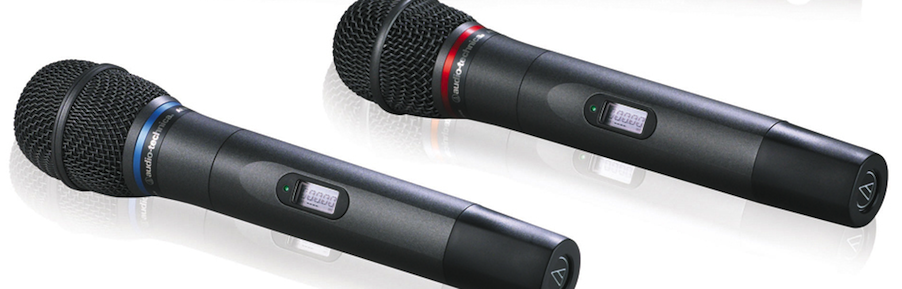 audio technica wireless microphones for sale